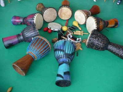 Zahájení kurzu afro bubnování ve Zlíně podzim 2018